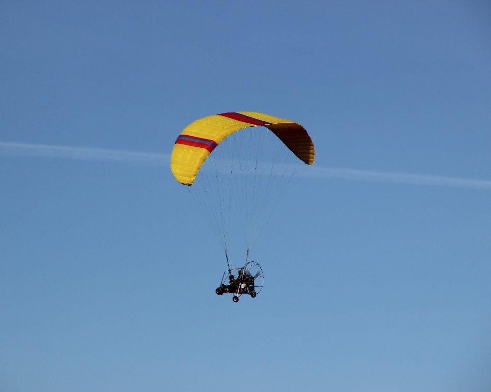 аерошут в Карпатах