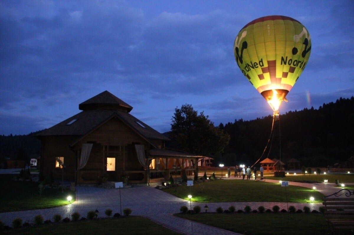 воздушный шар полет