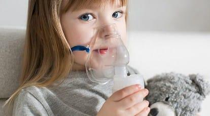 ингаляция при кашле у детей