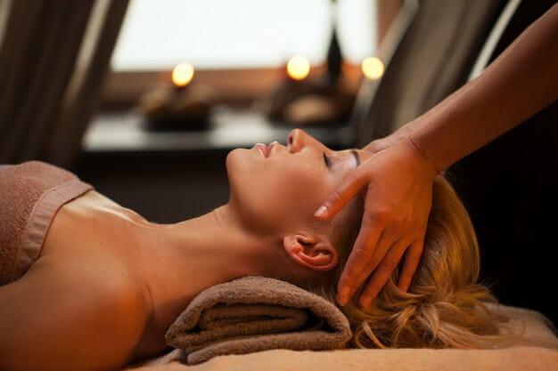 масаж лица