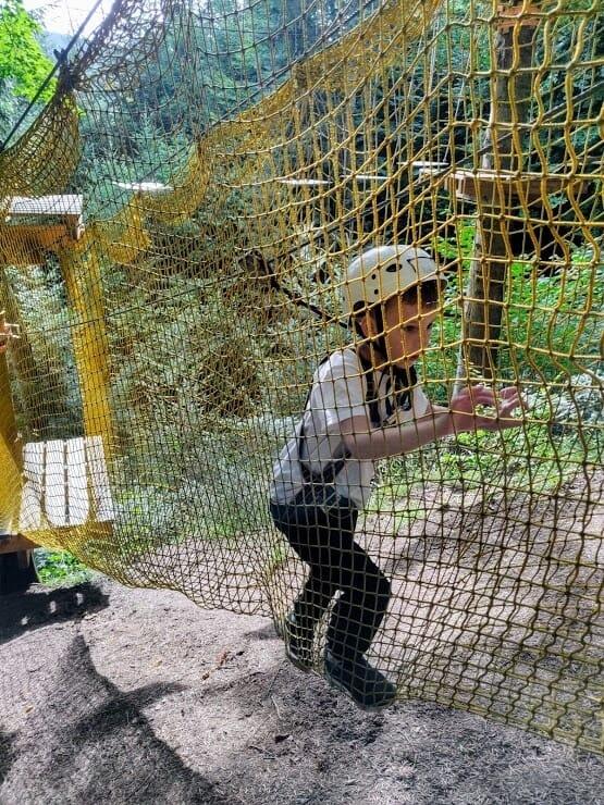 веревочный парк для детей