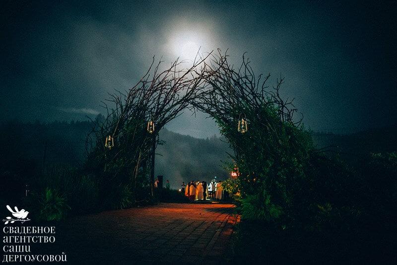 организация свадеб на природе
