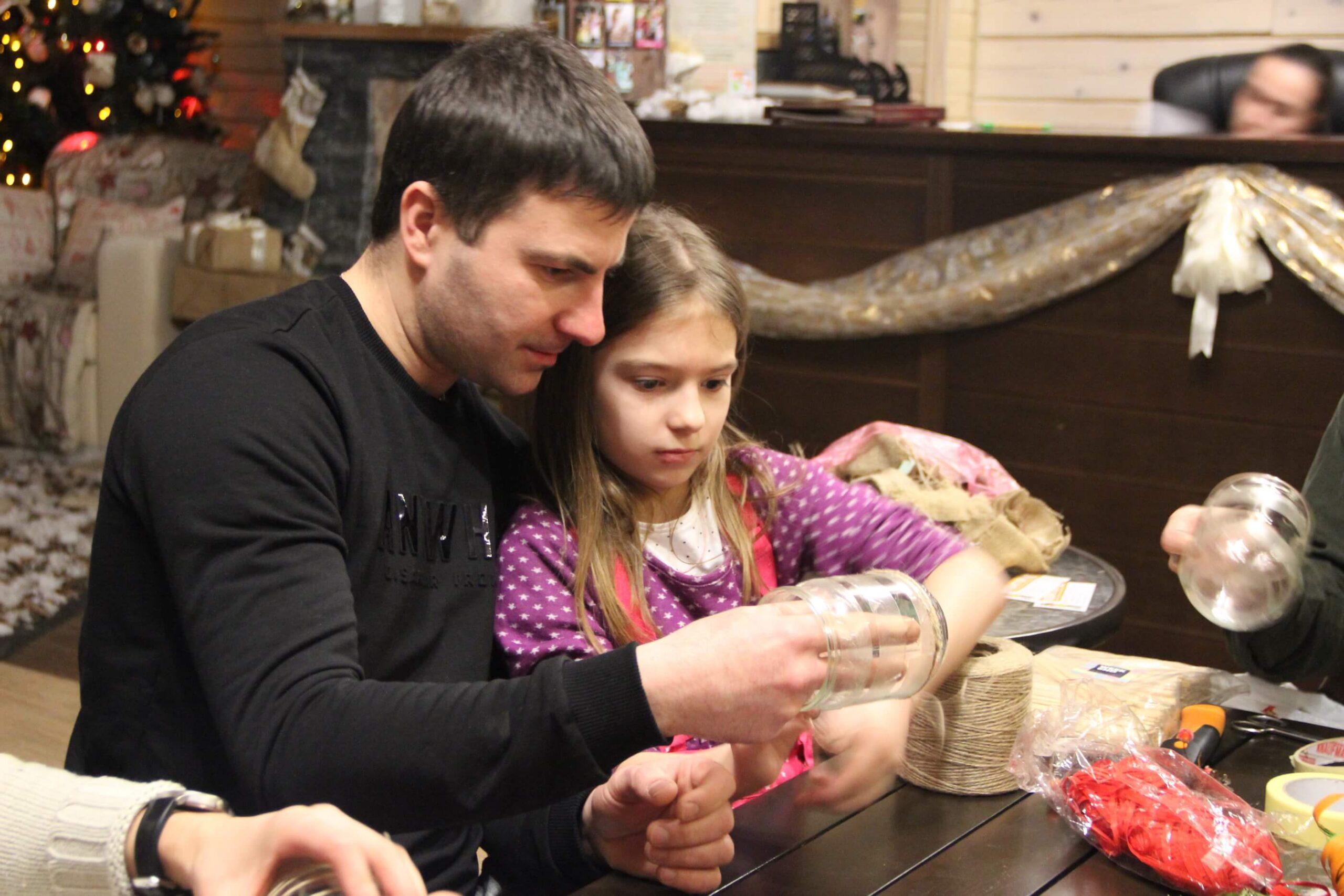 рождественский мастер класс в Taor
