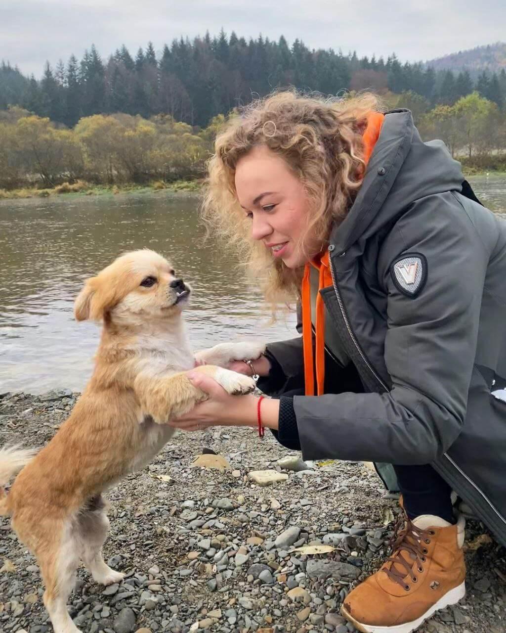 путешествие с собакой в Taor