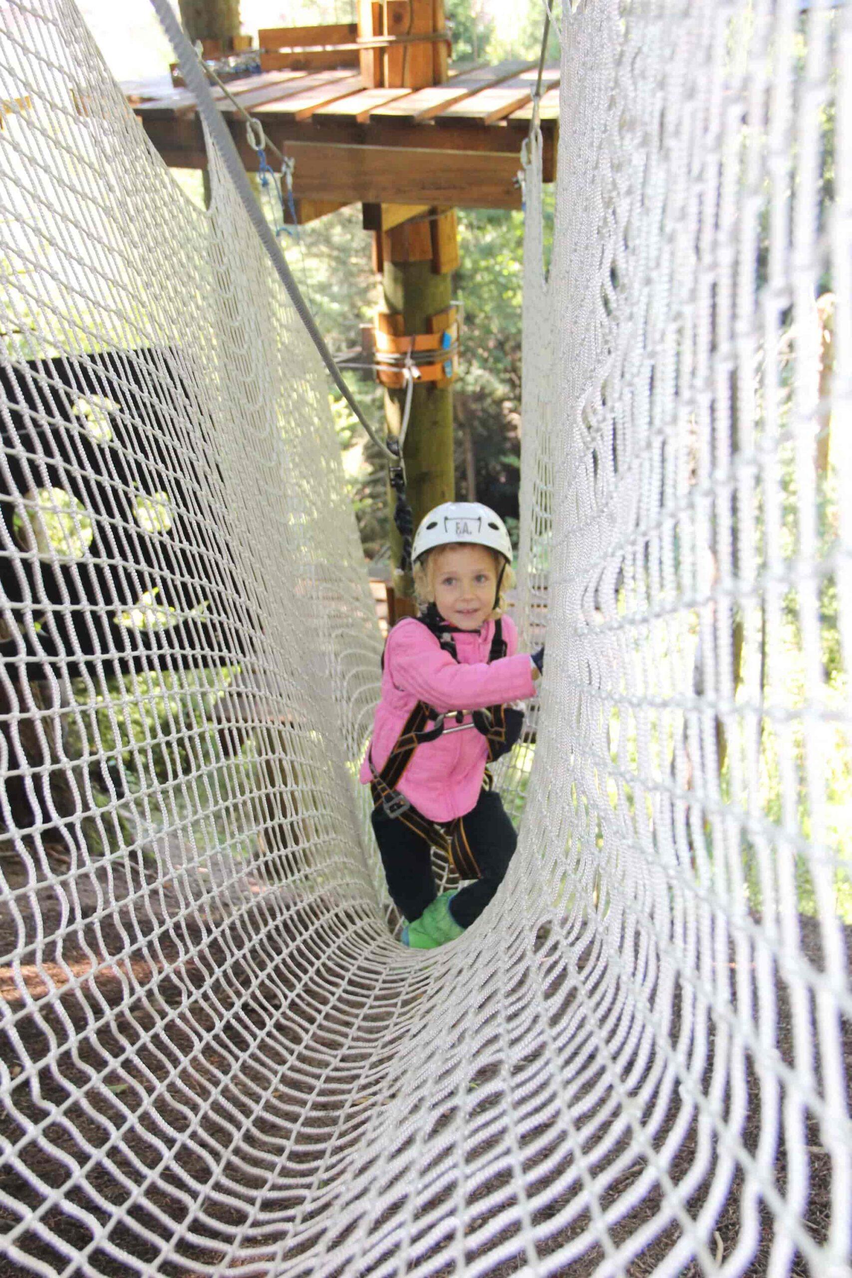 детский веревочный парк Таор