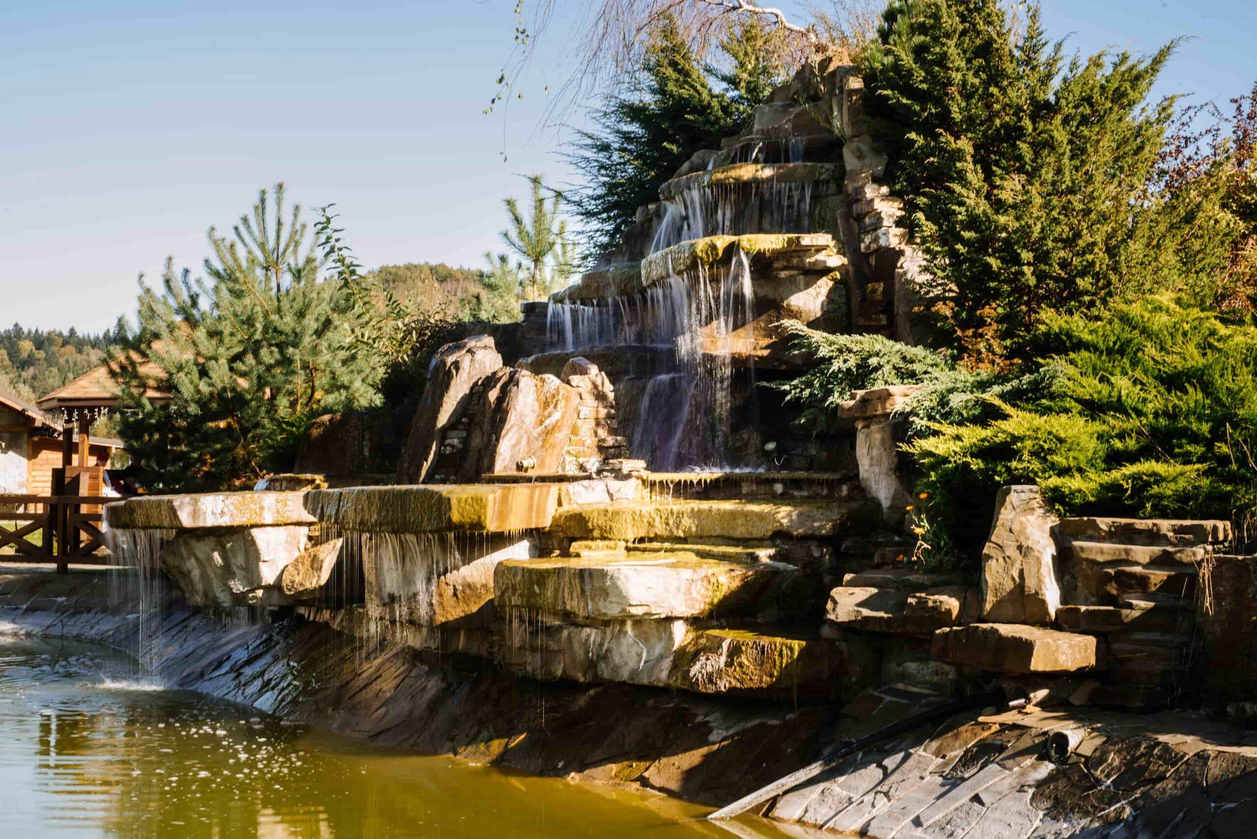 водоспад в Таор