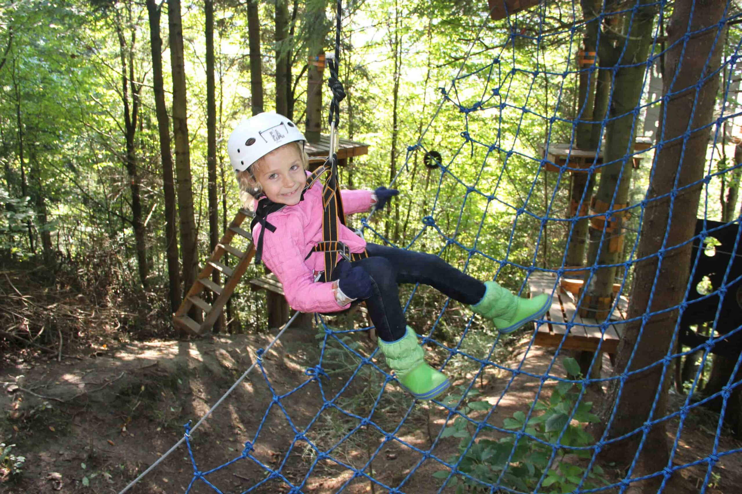 детский веревочный павр в Таор