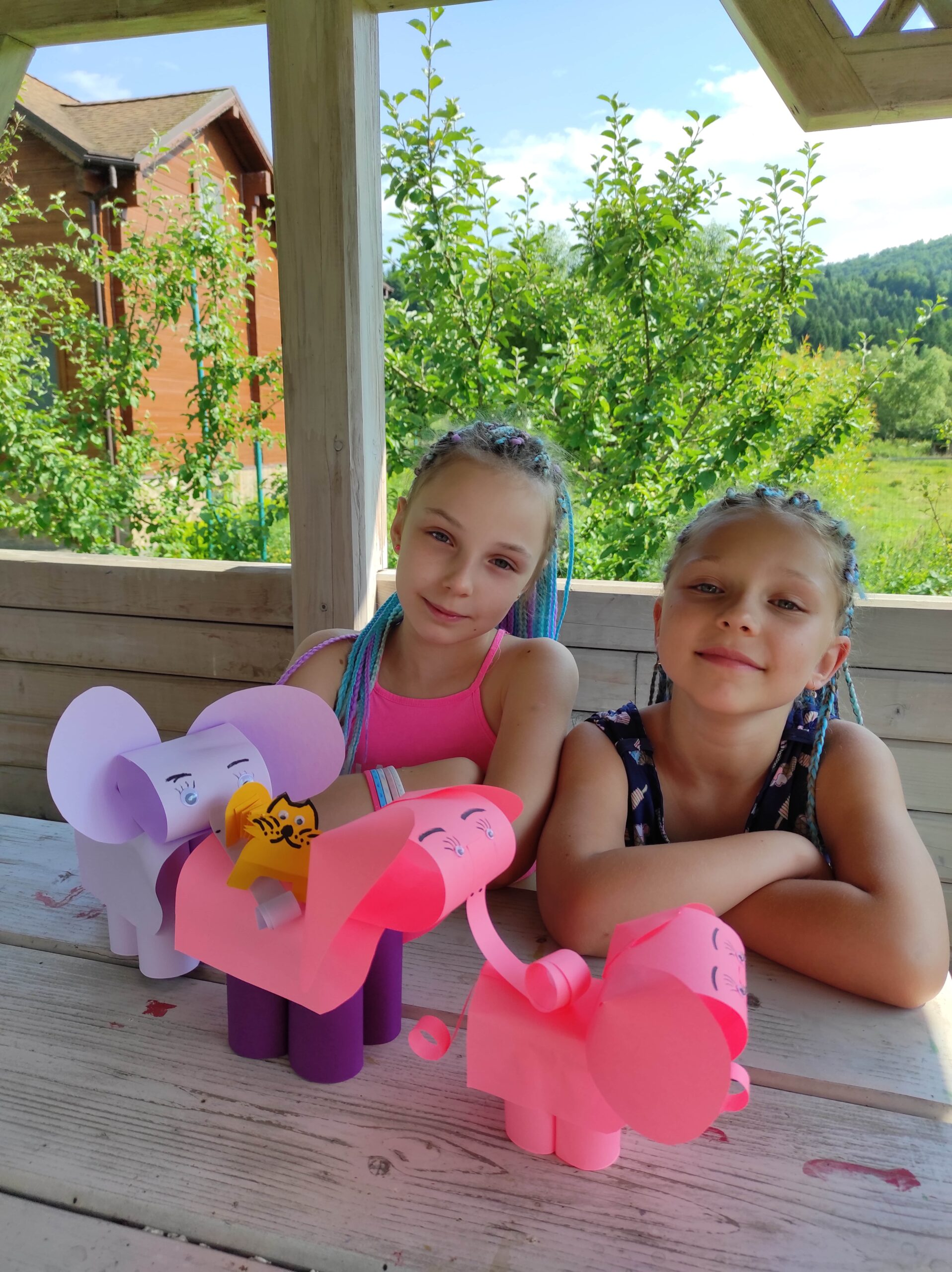 Осенние каникулы для детей в Карпатах во время семейного отдыха