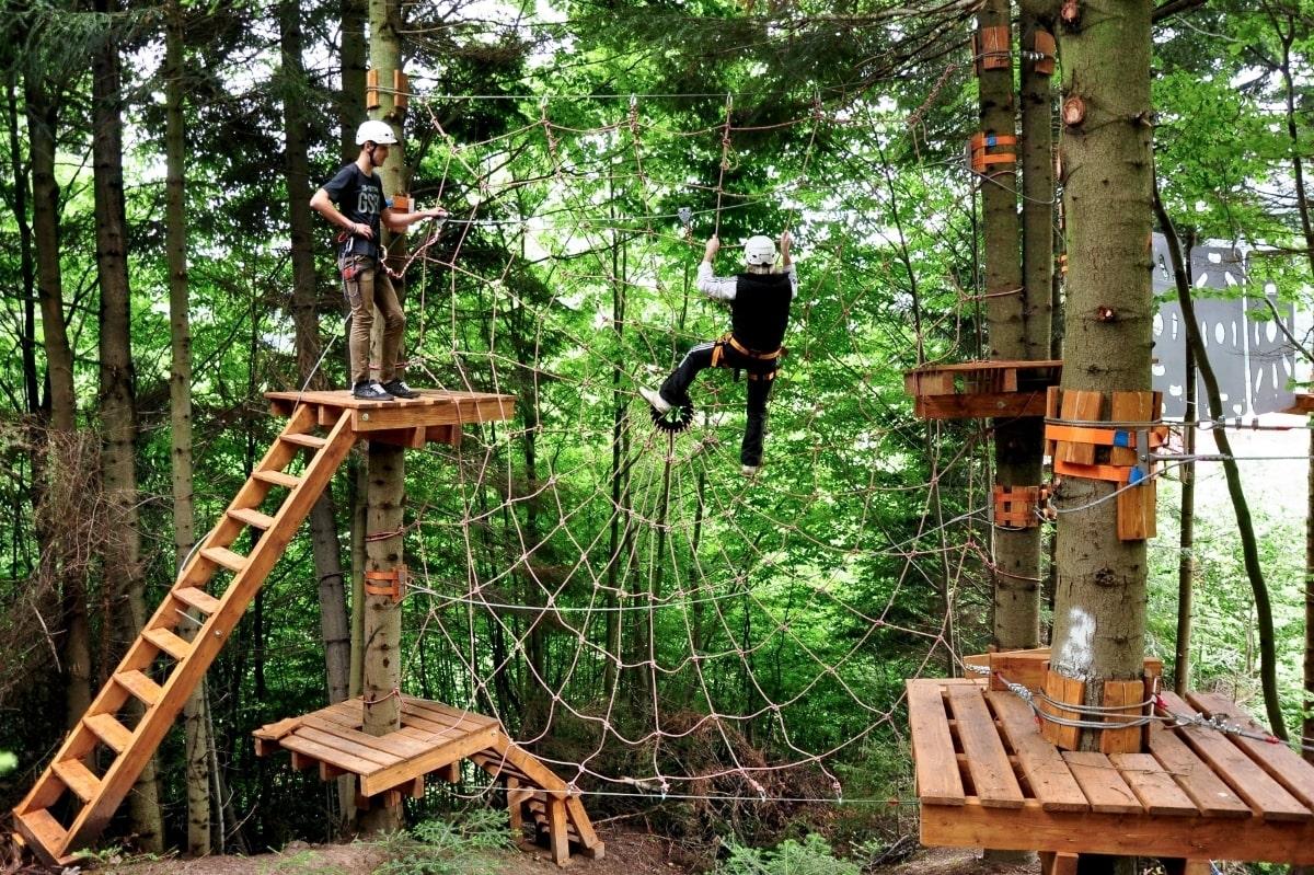 extreme recreation in TAOR Karpaty Resort & Spa